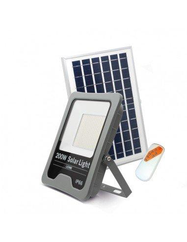 Foco Proyector LED Solar PRO 200W portada